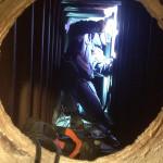Reparation av panntuber för överhettad ånga i låglegerat material, 2013