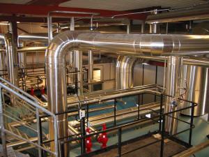 Nyproduktion av panncentral